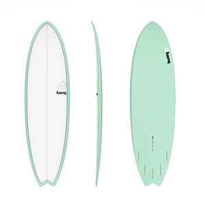 "TORQ MOD FISH 5'11"" SEA GREEN"