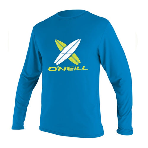 O'NEILL TODDLER SKINS RASH/UV L/S TEE Bright Blue