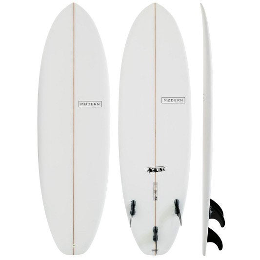MODERN HIGHLINE CLEAR P.U 6'2