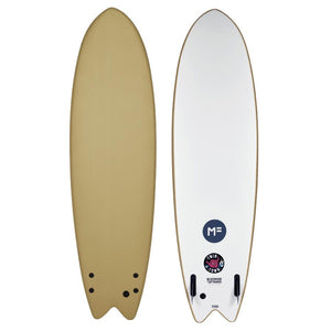 "MICK FANNING SOFTBOARD 6'6"" TWIN TOWN SOY"
