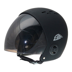 GATH RETRACTABLE VISOR HELMET BLACK