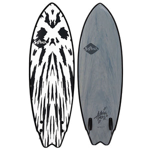 "SOFTECH MASON HO TWIN 5'6"" GUNMETAL BLACK"