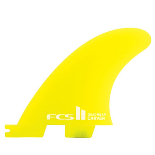 FCS II CARVER NEO GLASS QUAD REARS S/M
