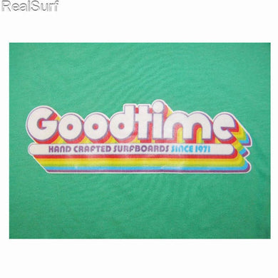 Retro GOODTIME T-Shirt - Mint Green