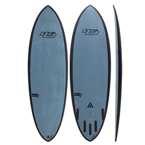 "HAYDENSHAPES HYPTO KRYPTO FF 5'4"" FUTURES Tri/Quad Blue"