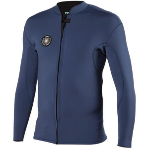 VISSLA MENS 2MM SOLID SETS FZ JACKET 2021