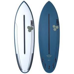 "CHANNEL ISLANDS MINI 5'5"" DUAL CORE FCS II"