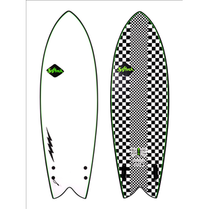 "SOFTECH KYUSS FISH 5'8"" CHECKERED"