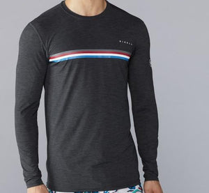 Vissla Mens The Trip LS UV Tee