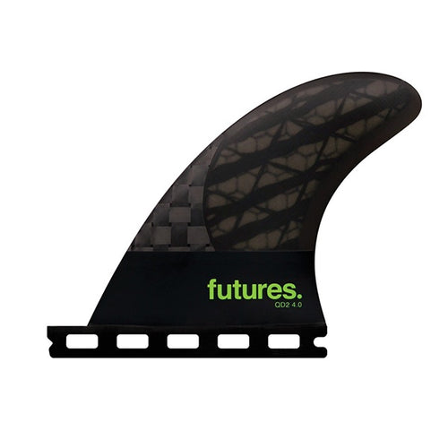 FUTURES QD2 4.0 BLACKSTICKS QUAD REAR