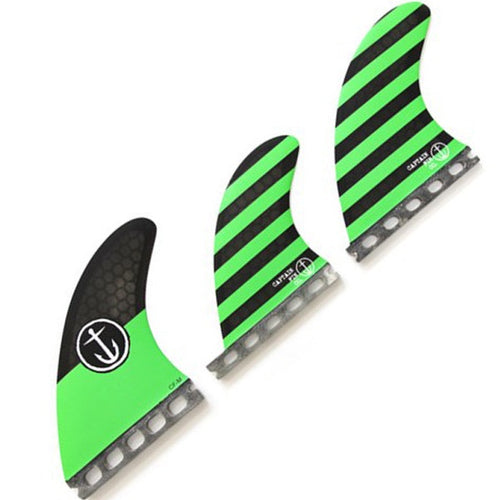 CAPTAIN FIN CF-5 FIN TRI/QUAD SET FUTURES M