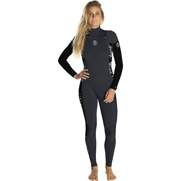 RIP CURL WMNS DAWN PATROL 3/2MM CZ BLACK/GREY