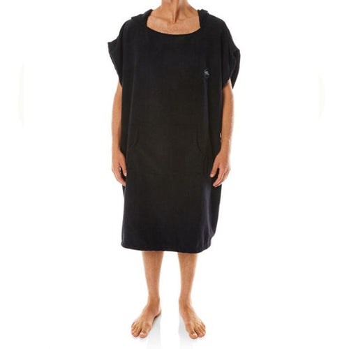 O'NEILL MONSOON CHANGE TOWEL - BLACK