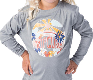 RIP CURL TODDLER MINI ISLAND LOVING L/S RASH