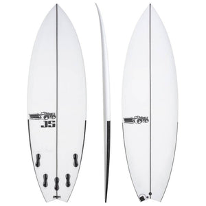 "JS BLACK BOX 3 SWALLOW TAIL P.U 6'1"" FCS II"