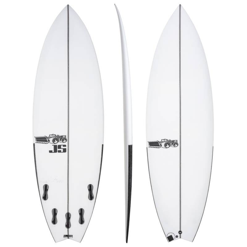 JS BLACK BOX 3 SWALLOW TAIL P.U 6'1