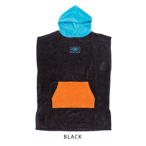O&E YOUTH HOODED PONCHO 2021