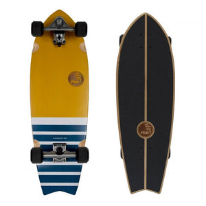 "SLIDE FISH MARRAJO 32""SURF TRAINER SKATEBOARD"