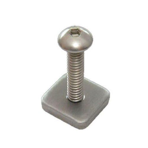 FCS LONGBOARD SCREW & PLATE