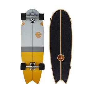"SLIDE SWALLOW TRICK 33"" SURF TRAINER SKATEBOARD"