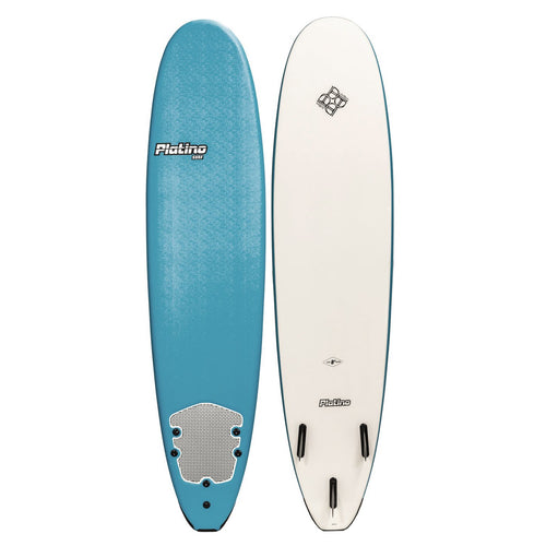 PLATINO SOFTBOARD 8'0 STEEL WHITE