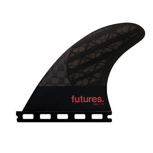 FUTURES QD2 4.15 BLACKSTICKS QUAD REAR