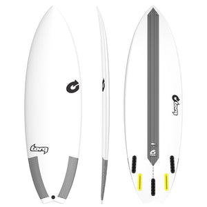 "TORQ TEC PERFORMANCE FISH 5'8"" Futures"