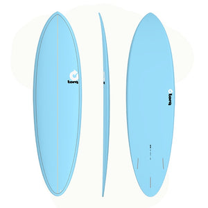 "TORQ MOD FUN 7'2"" EPOXY BLUE"
