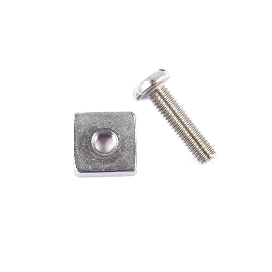 O&E FIN BOX SCREW & PLATE