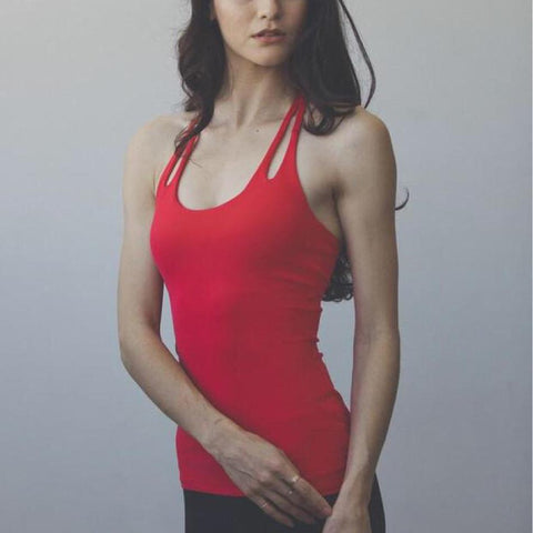 Women's Active Cross Strap Tank