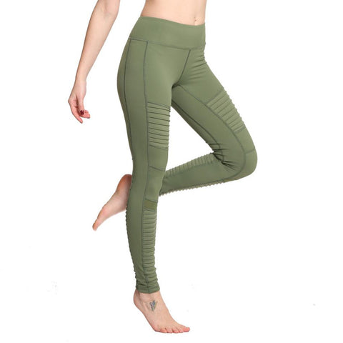 High Waisted Moto Leggings  |  TRU180 Fitness