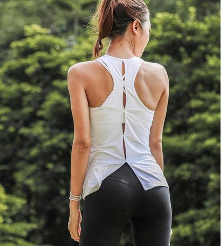 Woman Sleeveless Crossfit Tank Top