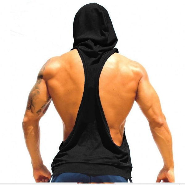 Hooded Tank Top  |  TRU180 Fitness