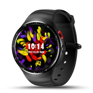 Smart Watch with Heart Monitor and Camera for Android