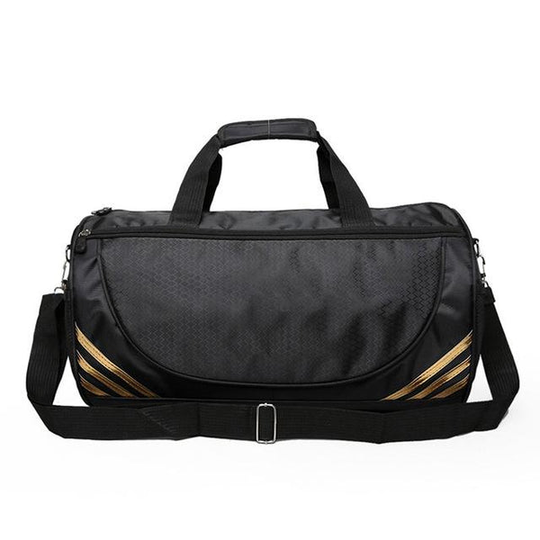 Simple Black Sports Bag  |  TRU180 Fitness