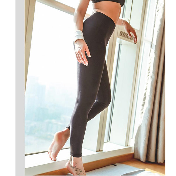 High-Waisted Solid Leggings  |  TRU180 Fitness