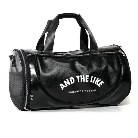 And The Like™ Vegan Leather Duffle  |  TRU180 Fitness