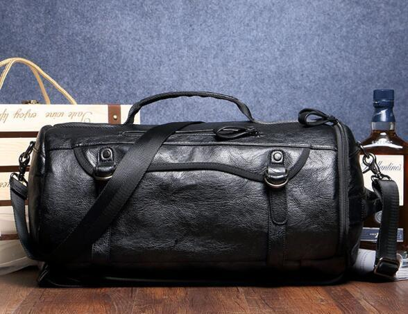 Vegan Leather Convertible Duffle  |  TRU180 Fitness
