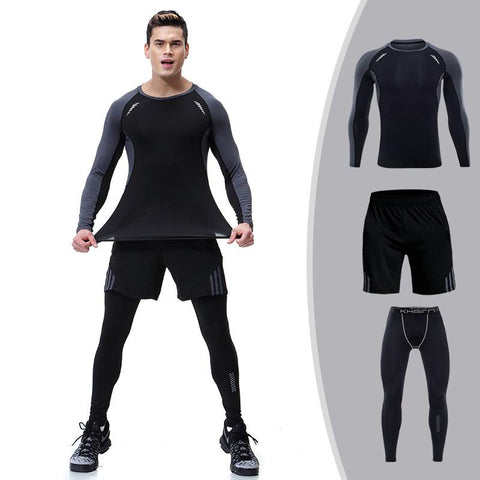 Men's 3 Piece Compression Bundle  |  TRU180 Fitness