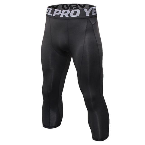Men's Calf Length Compression Pants  |  TRU180 Fitness
