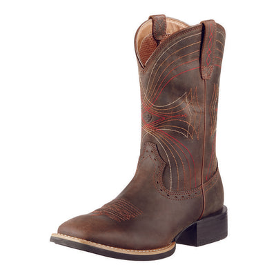 Ariat Men's Distressed Brown Sport Boots - RM Tack & Apparel