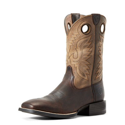Ariat Men's Sport Ranger Western Boot - Barley Brown/Toasted Tan - RM Tack & Apparel