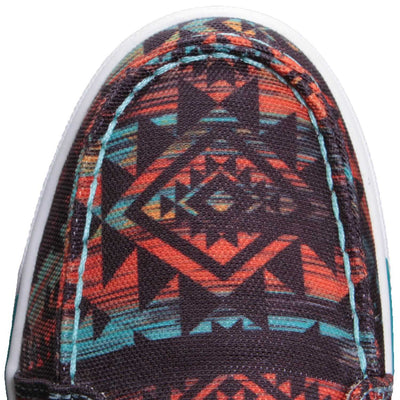 Twisted X Women's Midnight Aztec Hooey Lopper Shoes