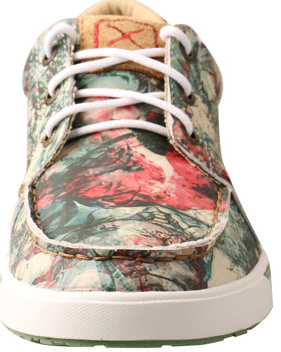 Twisted X Women's Floral Tooled Casual Shoes