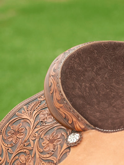 NF Custom Barrel Saddle - RM Tack & Apparel