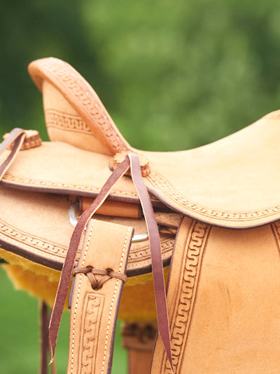NF Custom Child Rancher Saddle - RM Tack & Apparel