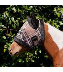 Kensington Protective Products Pony Fly Mask With Ears And Fleece Trim - RM Tack & Apparel
