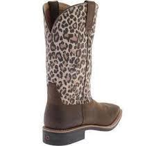 Twisted X Women's Leopard Top Hand Boots - RM Tack & Apparel