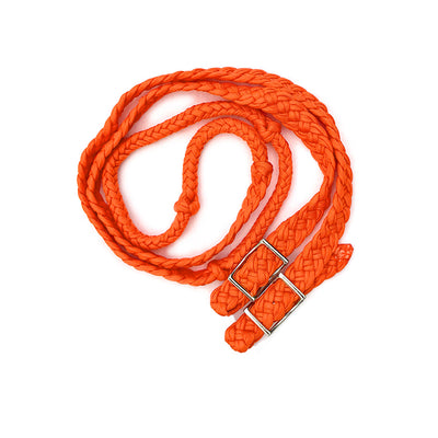 Nylon Roping/Barrel Reins with Snap