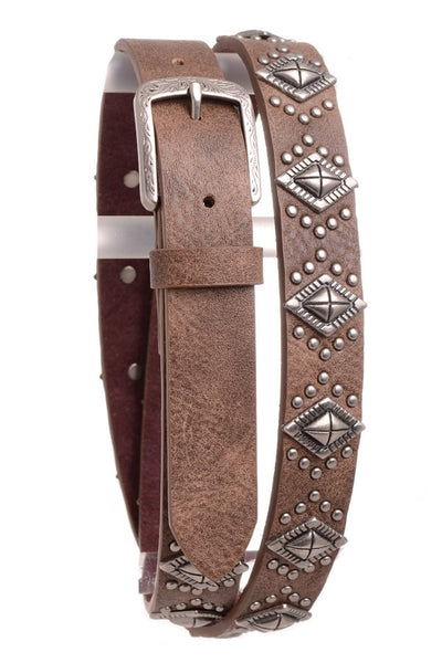 Kamberley Diamond Studded Women's Belt - RM Tack & Apparel